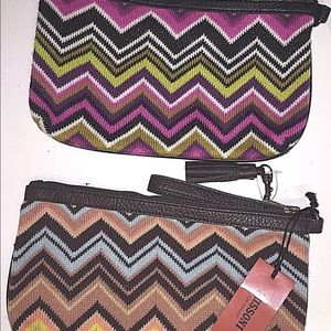 Missoni for Target ZigZag Knit Set of Two Clutches